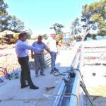 Il sindaco Marko Paliaga ha visitato il cantiere del complesso di piscine 3