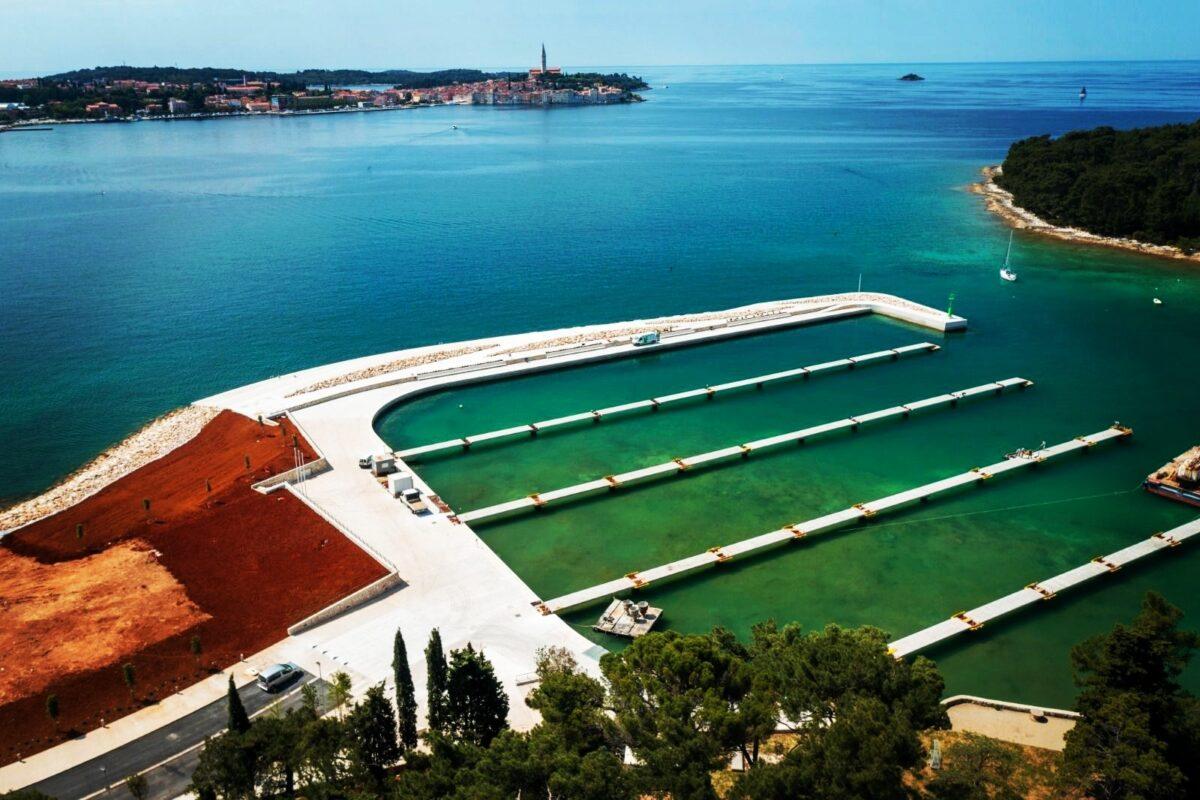 Costruzione del Porto settentrionale San Pelagio - glavna fotografija