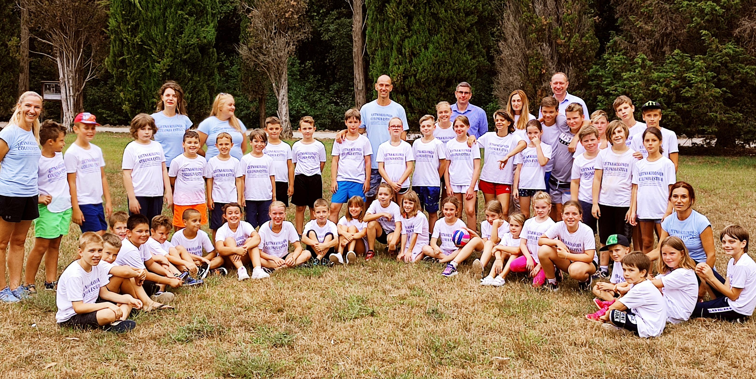 Il sindaco Marko Paliaga ha fatto visita ai giovani partecipanti della Colonia estiva