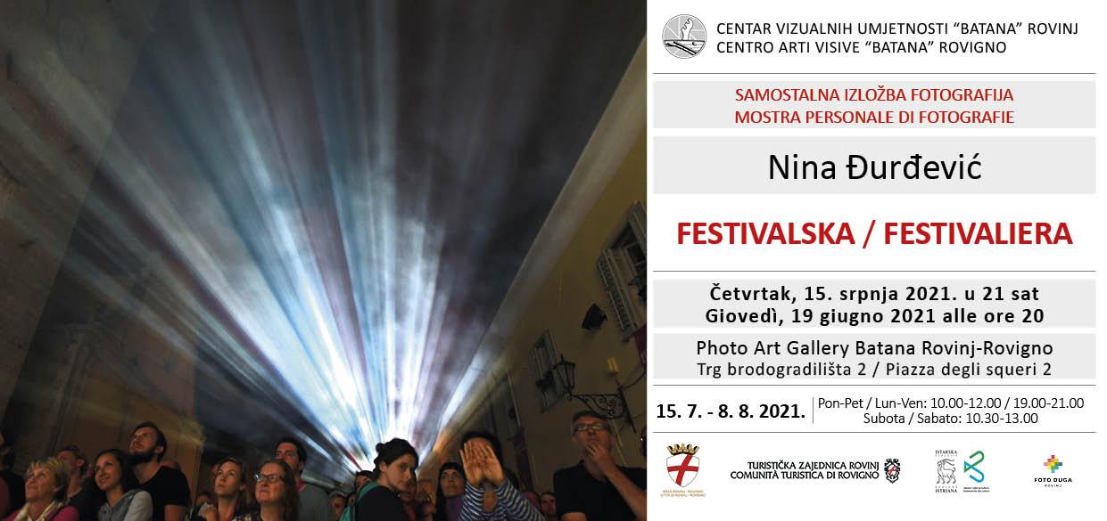 Mostra personale di Nina Đurđević presso la Photo Art Gallery Batana