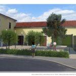 Progetto di ricostruzione della piazza di Villa di Rovigno 1