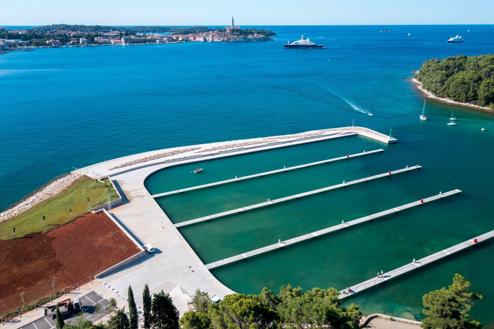 Il nuovo porto comunale San Pelagio verrà inaugurato il 15 settembre