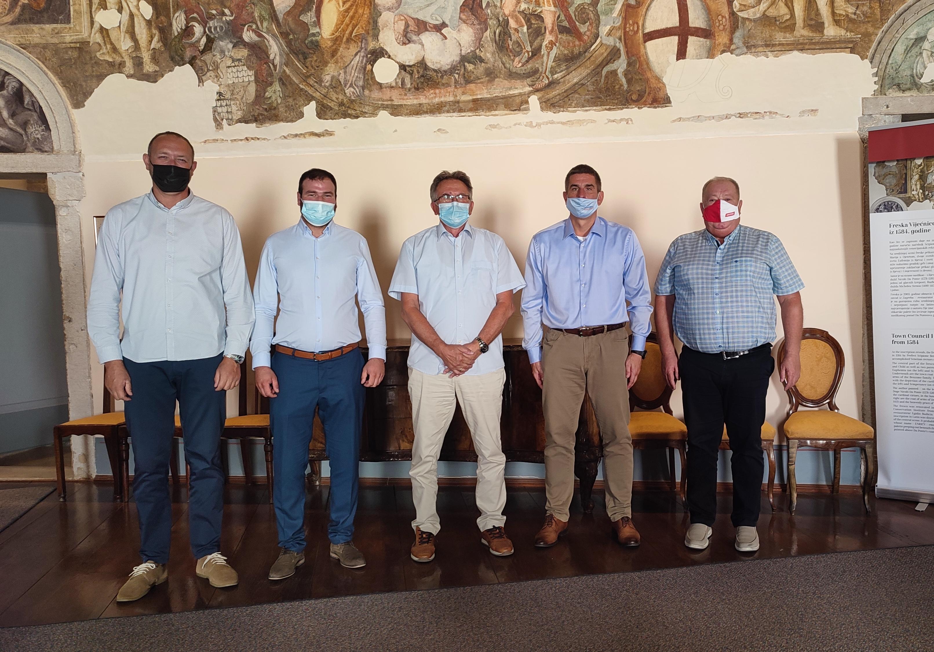 Il sindaco Marko Paliaga ha incontrato i rappresentanti della minoranza nazionale Bosgnacca