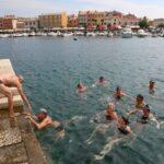 """Plivači stigli na cilj u sklopu manifestacije """"Od punte do punte"""" 1"""