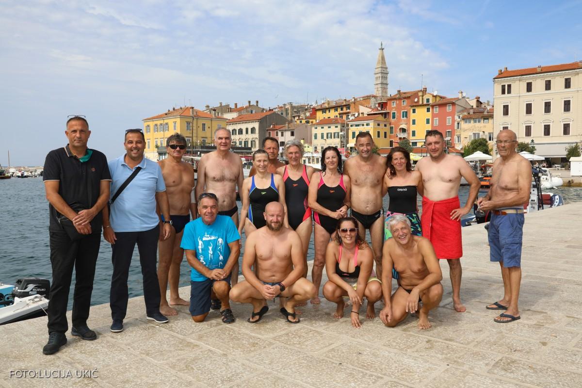 """Plivači stigli na cilj u sklopu manifestacije """"Od punte do punte"""""""