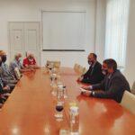Il sindaco ha incontrato i rappresentanti della 119.esima brigata 2