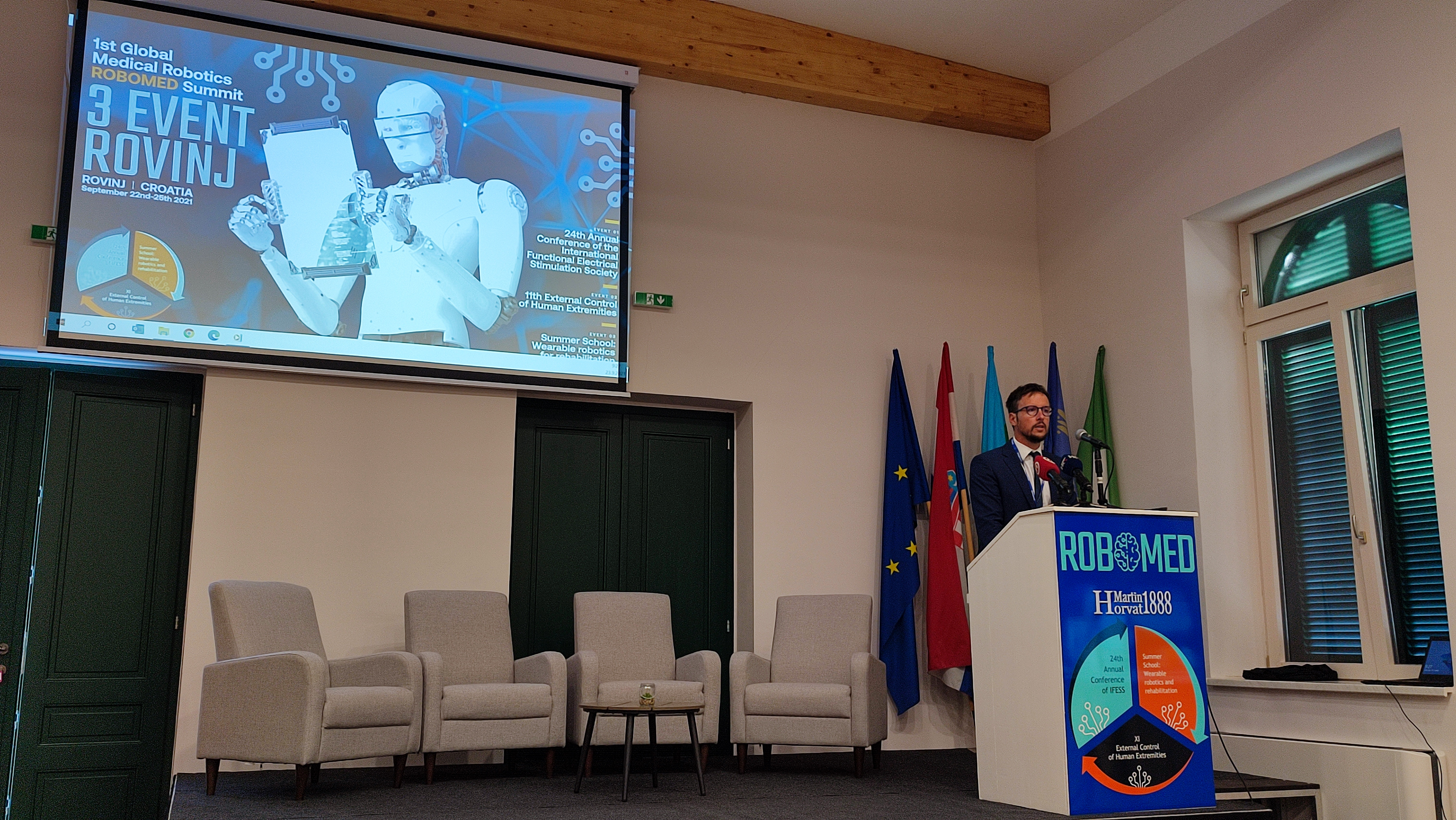 "Specijalna bolnica ""Martin Horvat"" domaćin 1. Globalnog kongresa medicinske robotike"