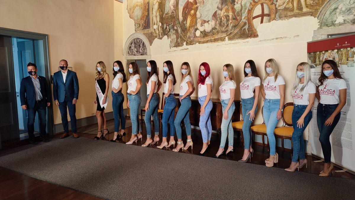 Održan prijem finalistica za titulu Kraljice Hrvatske - glavna fotografija