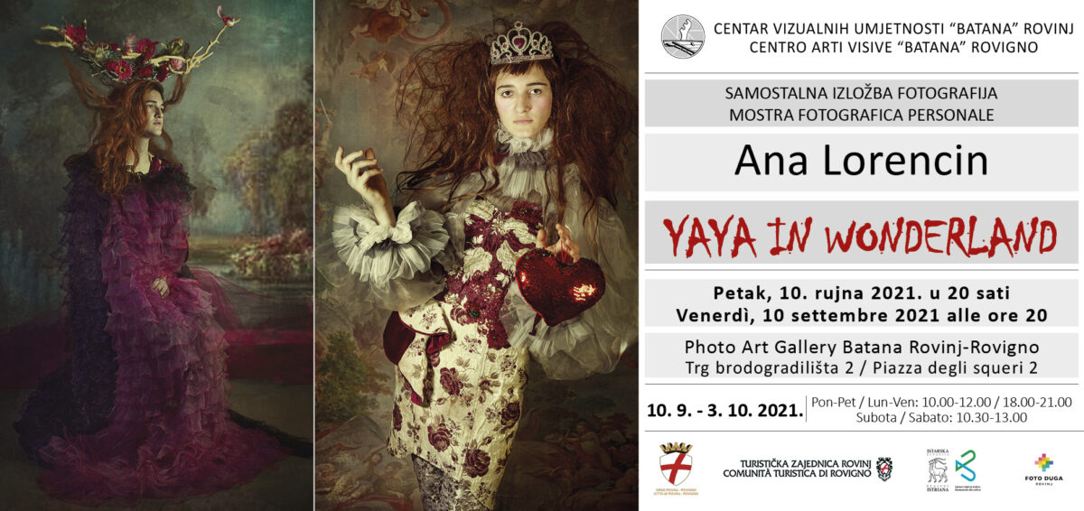"Mostra fotografica ""Yaya in Wonderland"" di Ana Lorencin presso la Galleria ""Batana"" - glavna fotografija"