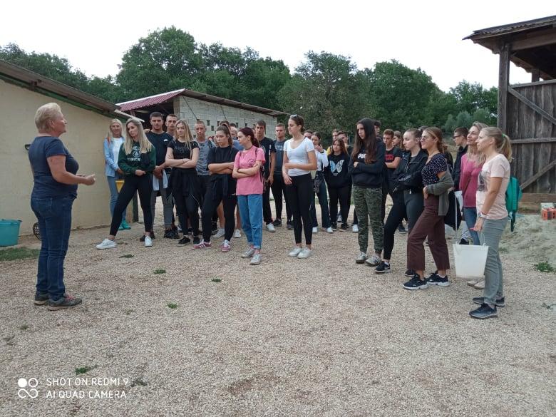 Posjet učenika Talijanske srednje škole farmi Haber