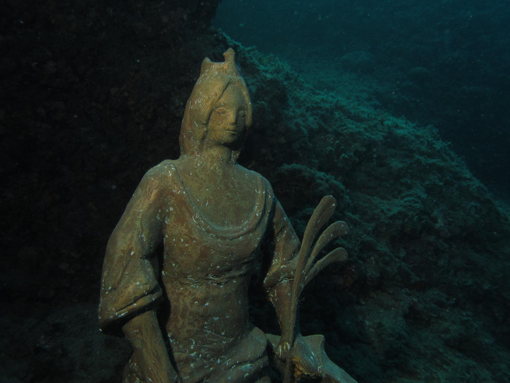 Četvrto podvodno hodočašće na repliku kipa sv. Eufemije