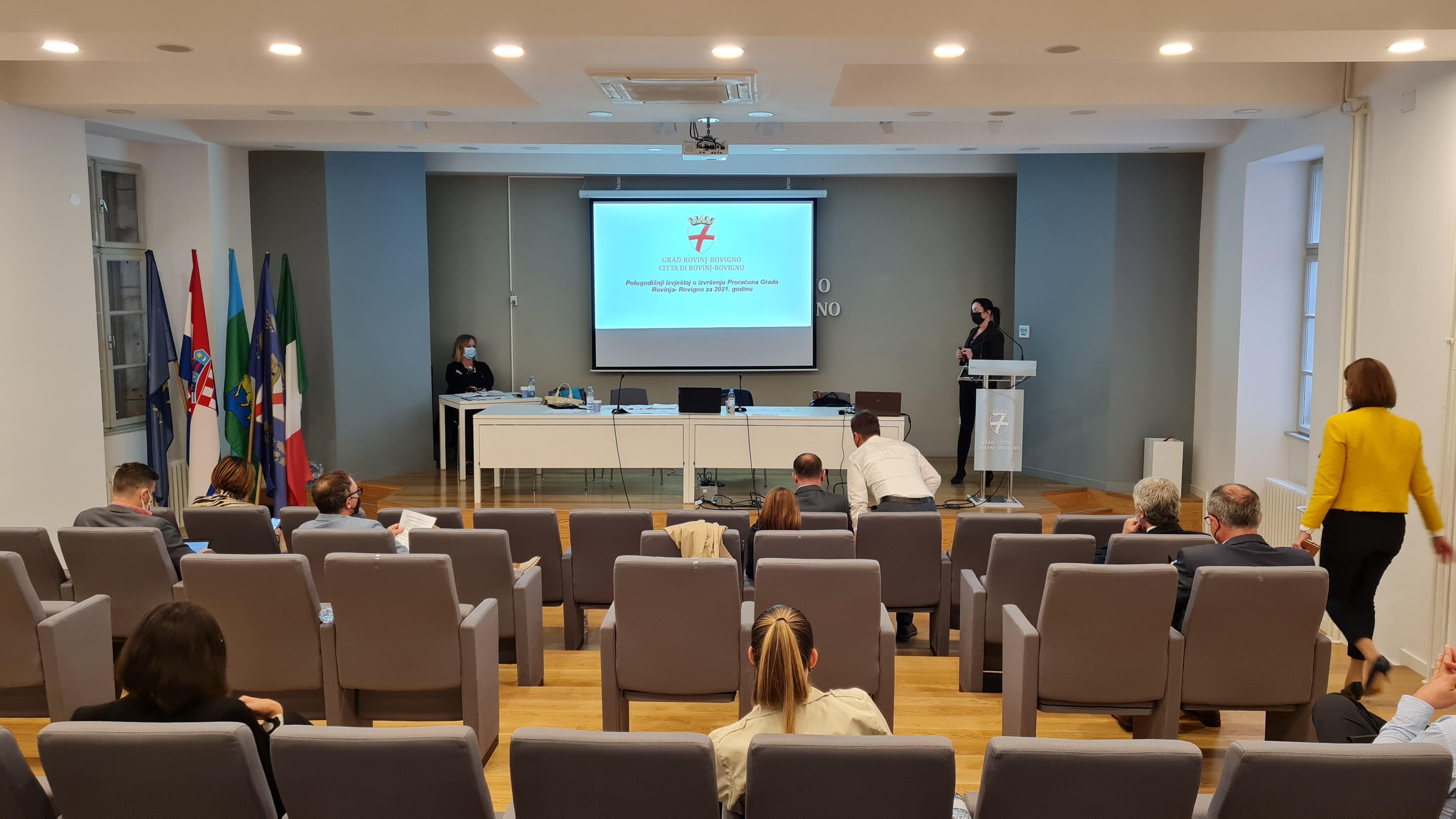 Održana 6. sjednica Gradskog vijeća Grada Rovinja-Rovigno