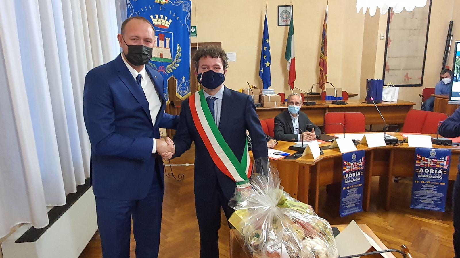Grad Rovinj-Rovigno sudjelovao na Danima bratimljenih gradova u Adriji
